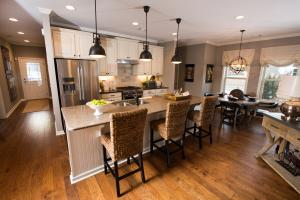 Model Home Kitchen at Lake Arrowhead in Cherokee County