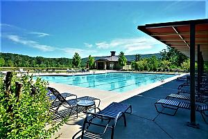 Great Festival Park Pool at Lake Arrowhead in Cherokee County