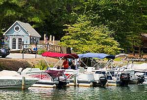 Boating Facilities at Lake Arrowhead