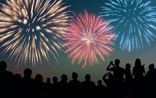 FIREWORKS RESCHEDULED